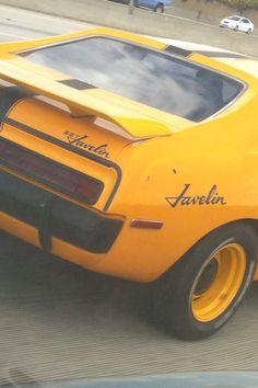 Javelin My Dream Car, Dream Cars, Sport Cars, Race Cars, Amc Gremlin, Amc Javelin, Yellow Car, American Motors, Eugene Oregon