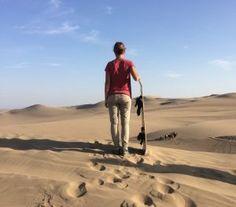 Sandboarding in Huacachina | World Samplers