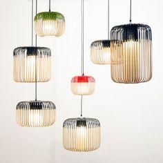 Lampe  poser BAMBOO LIGHT XS bambou noir ˜27cm H24cm