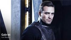 Carl Beukes plays the Archangel Gabriel on SyFy's original series #Dominion