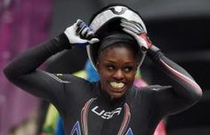 Williams in medal double, but Canada take bobsleigh title.  Silver medal.  One of only a few USA athletes to win medals in both summer and winter games!
