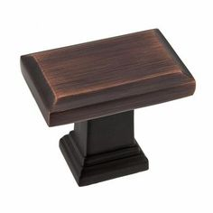 High Quality Richelieu Hardware 1 1/2 In. X 1 1/4 In. Oil Rubbed Bronze Estate Large Knob
