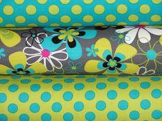 Michael Miller Fabric Full Yard Bundle Far Out by fancypantsfabric, $24.00