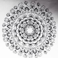 Mandala draw mendi
