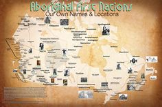 Map of First Nations pre-European contact (Canada)