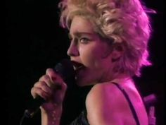 Madonna 1987: Who's That Girl World Tour. I saw this same concert in Cleveland of that year. She was at the top of her popularity. Great Concert.
