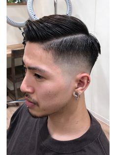 Asian Man Haircut, Asian Men Hairstyle, Short Hair Cuts, Short Hair Styles, Undercut Men, Handsome Korean Actors, Disconnected Undercut, Hair And Beard Styles, Hairline