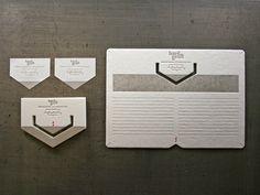 packaging & business card // Studio on Fire // #letterpress