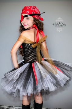 Sassy Girl PIrate Costume by SofiasCoutureDesigns on Etsy