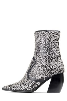 Jeffrey Campbell Shoes TUNNEY Heels in Black Silver