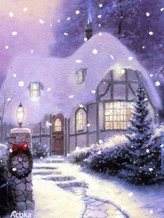 480 best moving christmas snow scenes images on pinterest in 2018 download animated 240x320 cell phone wallpaper category holidays magical christmas m4hsunfo