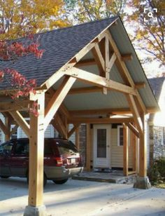 Building A Wooden Carport In 2 Days Easy Diy Projects