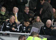 Hull City A.F.C Analyst Laurence Stewart Hard at work #ingameanalysis #R2C