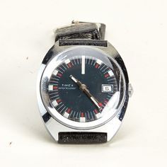 Vintage 1972 Timex Military Watch