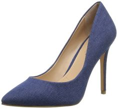 Charles by Charles David Women's Pact Dress Pump >>> Find out more details by clicking the image : Closed toe sandals Denim Pumps, Denim Shoes, Stiletto Heels, High Heels, Shoes Heels, Closed Toe Sandals, Charles David, Women's Pumps, Christian Louboutin