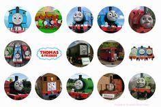 Thomas the Tank Engine & Friends Free Bottle Cap Images by Folie du Jour