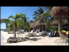 Maya Chan Beach Resort in Costa Maya, Mexico - YouTube