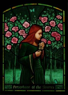 the-hanging-garden:  Persephone Of The Flowers
