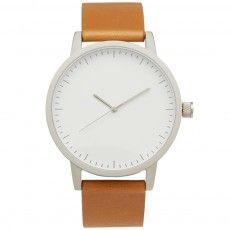 Simple Watch Co. Kent Watch (Tan, Silver & White)
