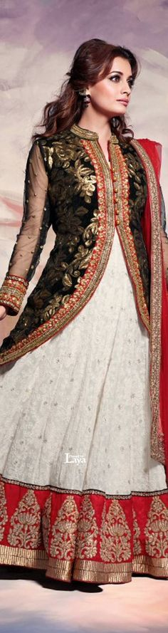 via Laya Pakistani Bridal Wear, Pakistani Outfits, Indian Outfits, Anarkali Churidar, Anarkali Suits, Salwar Kameez, Lehenga, India Fashion, Ethnic Fashion