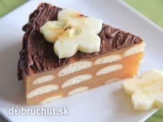 Fotorecept: Jablková nepečená torta -  Jablká nastrúhame nahrubo, pridáme škoricový a kryštálový cukor. V prípade, že použijeme kyslejšie...