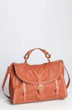 da7ed1a54b8f3 See By Chloé 'Poya Vintage - Large' Metallic Leather Satchel | Nordstrom