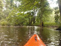I love canoeying