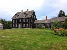 "ANDREW WYETH- ""Christina's World"" - The Olson House, Cushing, Maine."