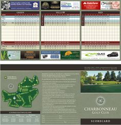 Blank golf scorecards printable blank golf scorecard for Bench craft company fraudsters