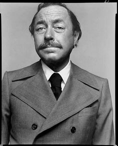 """Tennessee"" Williams. Photo now. Writing later."