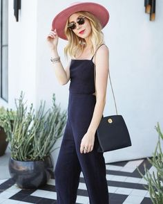 fall jumpsuit look on Minimal Major