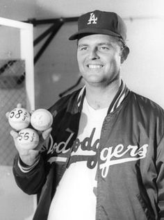 Don Drysdale sets a new record when he pitches 58 2/3 consecutive scoreless innings in 1968. He even receives congratulations by Senator Robert F. Kennedy in his victory speech at the Ambassador Hotel on June 4th.