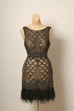 Art deco Dress / Sue Wong / by VintageBoxFashions on Etsy, $375.00