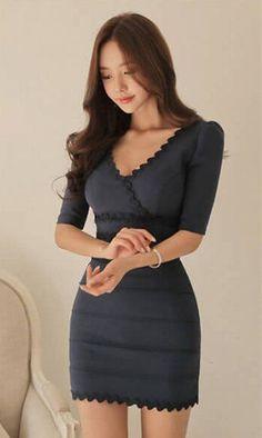 Rules Of Fashion Tips Beautiful Asian Women, Beautiful Models, Beautiful Dresses, Tight Dresses, Short Dresses, Good Looking Women, Casual Elegance, Model Photos, Asian Fashion