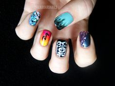 Chalkboard Nails: 31 Day Challenge, Day 22: Inspired by a Song