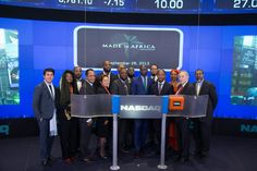 Made in Africa Foundation....The Made in Africa Foundation and the African Development Bank launch the Africa50 Fund at Nasdaq Towers Times Square New York  #MIAFAfrica50.