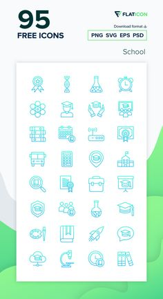 95 free vector icons of School designed by Kiranshastry Vector Icons, Vector Free, School Icon, Free Icon Packs, Edit Icon, Icon Font, School Design