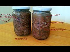 Βραστό κρέας κονσέρβα - γίδα ή τράγος | TasteFULL
