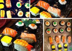 Sushi Inspired Cake Pop Dessert