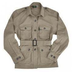 Pro Men's Safari Jacket 5.5 Oz Cotton Made in Africa