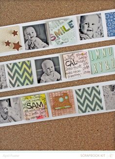 Smile *scrapbook kit only* by April Foster at @Studio_Calico