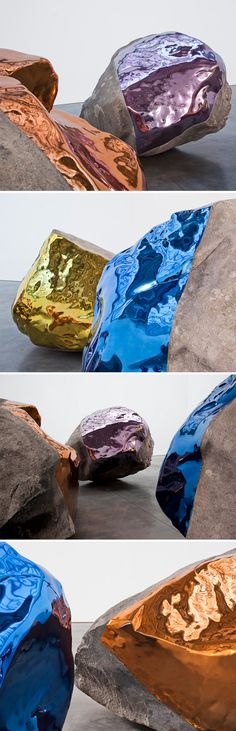 Artist Jim Hodges' rocks