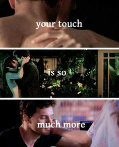 #fiftyshades @lilyslibrary #ana #christian Your touch is so much MORE