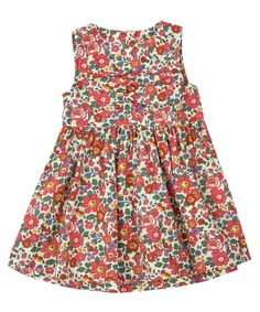 Betsy Print Pleated Dress, Liberty London Childrenswear. Shop more baby clothes from the Liberty London Childrenswear online at Liberty.co.uk