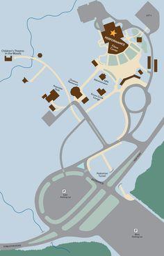 Groundsmap US Open Pinterest Tennis Association - Us open tennis map