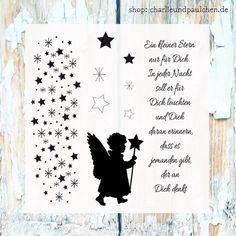 """Stempelsets - Stempelset """" kleiner Stern """" - ein Designerstück von Charlie-und-Paulchen bei DaWanda"""