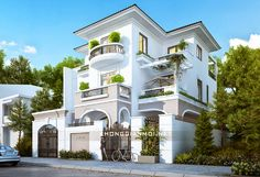 New Space - Project - Villa Design - Sample House Duplex Design, Townhouse Designs, Bungalow House Design, Villa Design, Modern House Design, Sweet Home Design, Dream Home Design, Indian House Plans, Dream Mansion