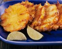 Grilled Pineapple with Coconut - Vegetarian Barbeque - Vegan Barbecue Recipe - Vegan BBQ -Vegetarian Grill Recipes