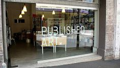 Published Art is a specialist bookshop servicing art, architecture and design communities
