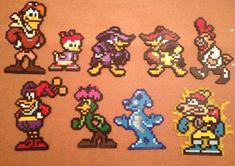 Disney Afternoon NES DARKWING DUCK 8 bit pixel art by ~Derrico13 on deviantART